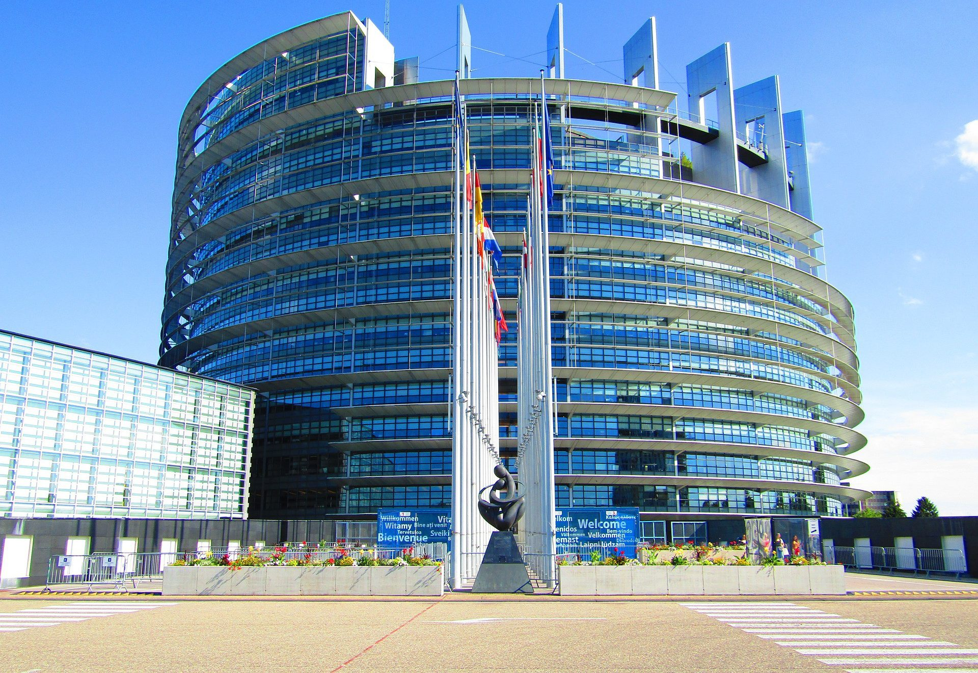 Europaparlament in Brüssel