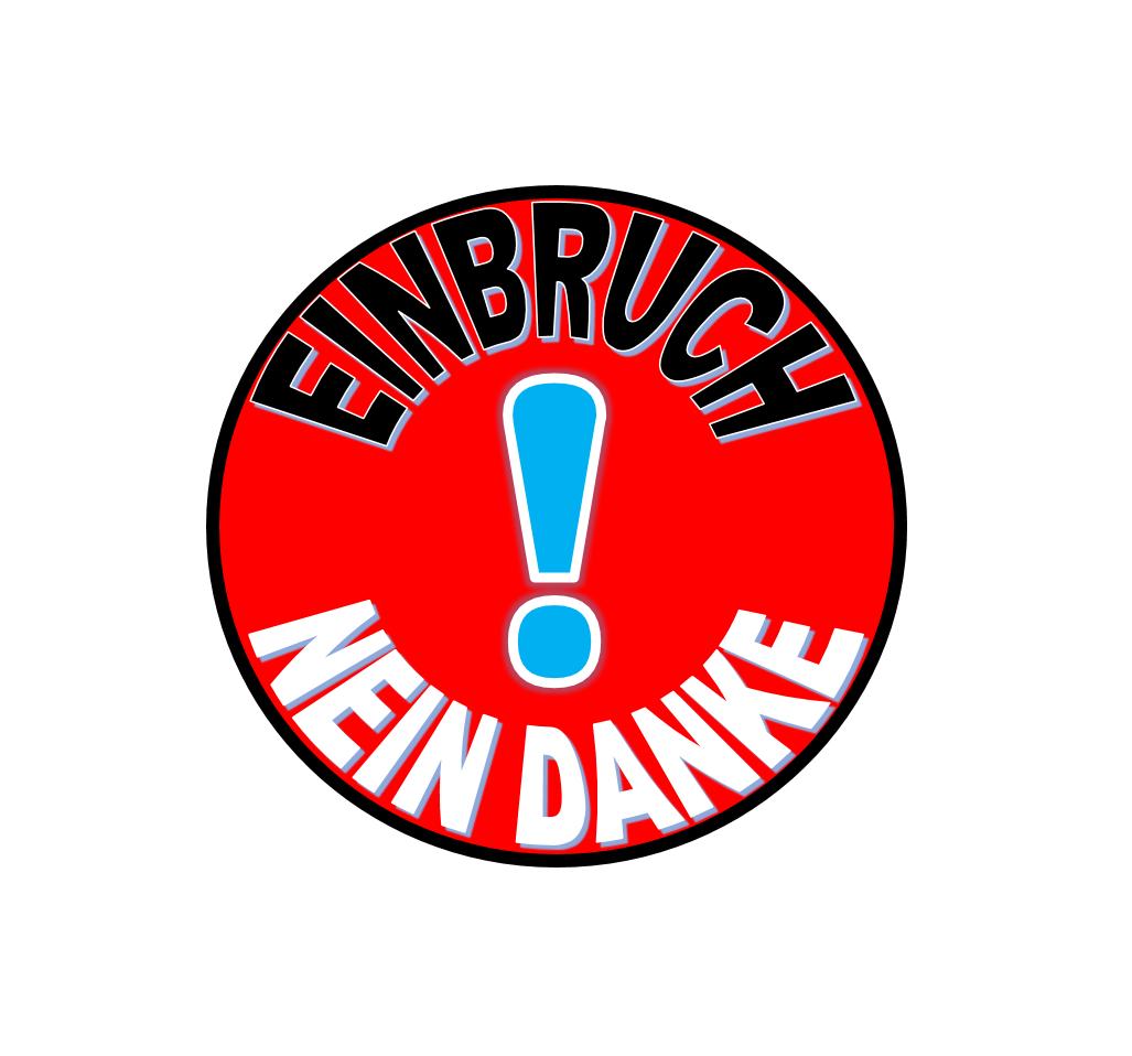 Logo-Einbruch